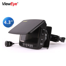 ViewEye Original Video Fish Finder Underwater Ice Video Fishfinder Fishing Camera 8pcs Infrared LED monitor camera kit day gift(China)