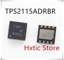 NEW 10PCS/LOT TPS2115ADRBR TPS2115A TPS2115 MARKING CGF SON-8 IC