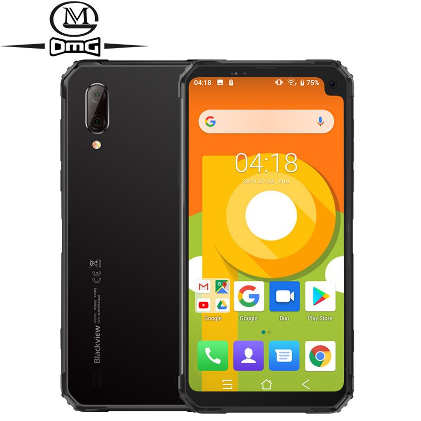Blackview BV6100 Android 9.0 IP68 IP69k NFC 4G Smartphone 6.88