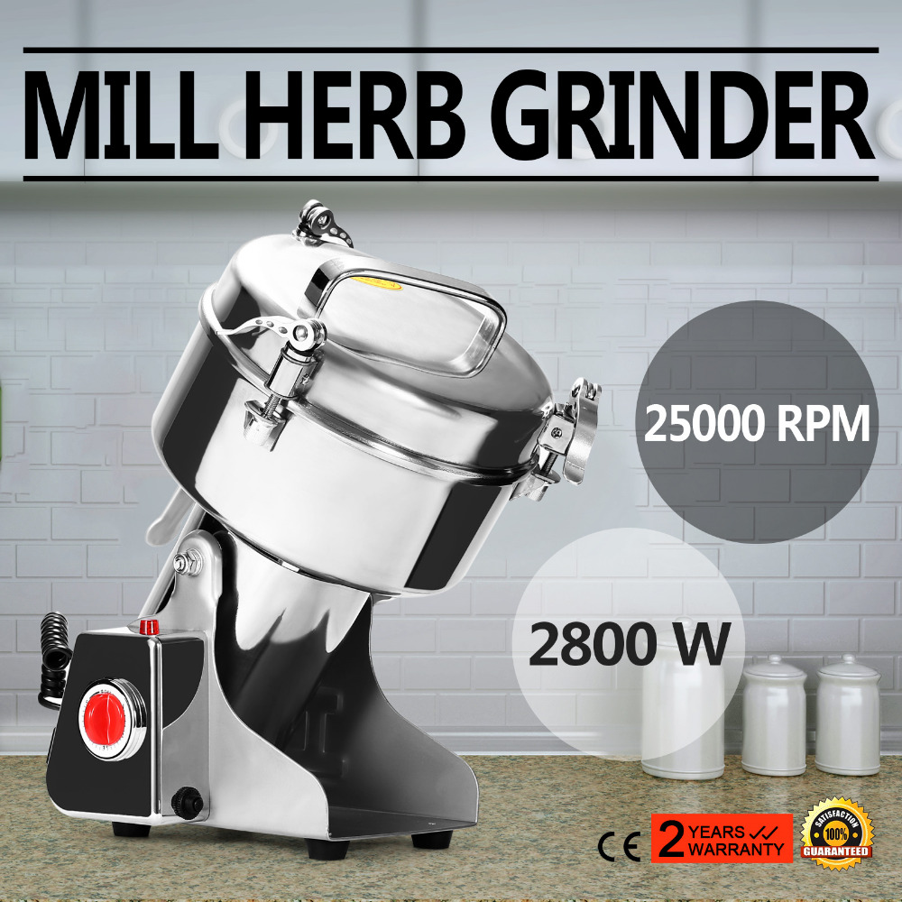 1000G High Speed Electric Herb Coffee Beans Grain Grinder Cereal Mill Flour Powder Machine