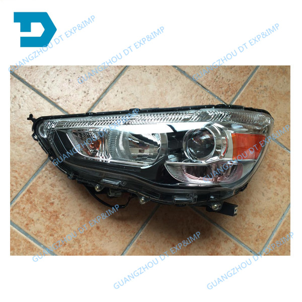 HID HEADLIGHT FOR ASX TURNING SIGNAL LAMP FOR OUTLANDER SPORT OE BUY THE 2 FOR 1 SET WITHOUT BULBS CHOOSE HALOGEN OR HID hid 2001 2004 car styling outlander headlight endeavor asx expo eclipse verada pajero triton outlander head lamp