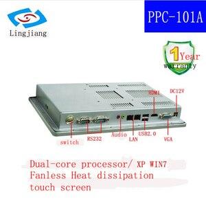 Image 4 - Brilho alto 10.1 polegadas com tela táctil fanless ip65 encaixou o pc industrial da tabuleta