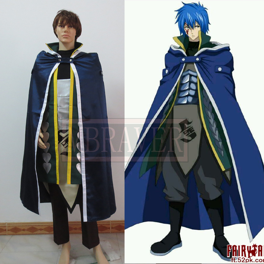 New After Seven Years Fairy Tail Jellal Fernandes Cosplay ...