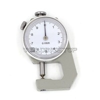Medidor de espesor medidores/0.1mm x 10mm/Ronda cabeza medida