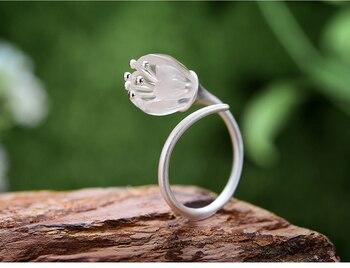 Natural Crystal Handmade Fine Flower Ring15