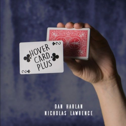 Hover Card Plus (Gimmick And Online Instructions) By Dan Harlan And Nicholas Lawrence Magic Trick Illusions Magician Cards