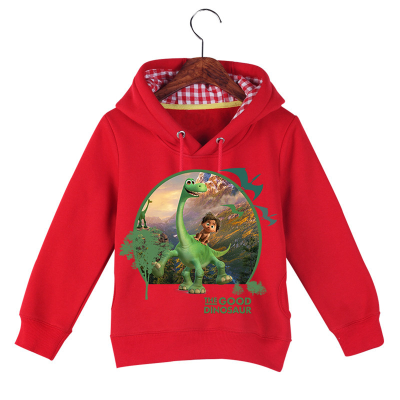 Hot Sale Baby Girl Boy Cartoon Long Sleeve The Good Dinosaur Printing Sweatshirts Baby Kids Autumn Winter Hoodie Tops GCM017 (5)