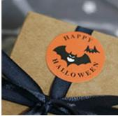 120pcs Seal Label Sticker cute witch pumpkin Gift Tag Label Marks Accessories DIY Halloween Pumpkin ghost party decoration in Party Favors from Home Garden