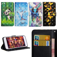 Luxury Flip Leather Case For LG K10 2018 Cover 3D Painted Wallet Card Slot Silicone Cover For LG K10 2018 Case 2018 LG K 10 for lg k10 2018 cover soft tpu silicone for lg k10 plus 2018 case cartoon patterned for lg k10 alpha 2018 k10a 2018 shell capa