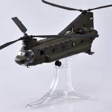 kids toys 1/72 Diecast Army Green Boeing CH-47 Chinook Helicopter Fighter Plane Toy Fighter model Toy gift for Children lepin block creator sopwith camel fighter model set plane toy compatible with 10026 kids gifts for children educational 21021