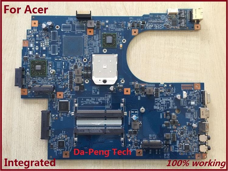 Prix pour 60 Jours Garantie MBPT901001 Mère D'ordinateur Portable Pour ACER ASPIRE 7551 7551G JE70-DN MB 09929-1 48.4HP01.011 NV73A 100% TESTÉ