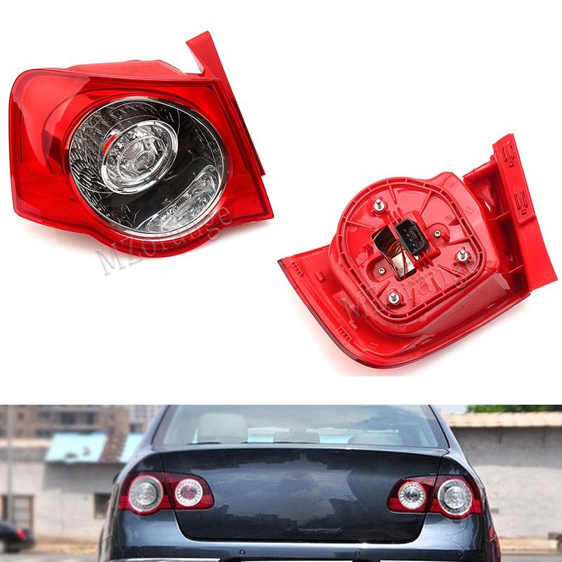 MZORANGE Rear Tail Light Lamp For VW Passat B6 Sendan 2006 2011 Car Styling Car LED