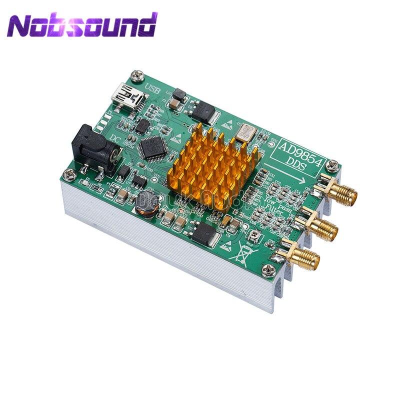 AD9854 DDS Signal Generator Module STM32 SCM / Heatsink /Master Computer Control
