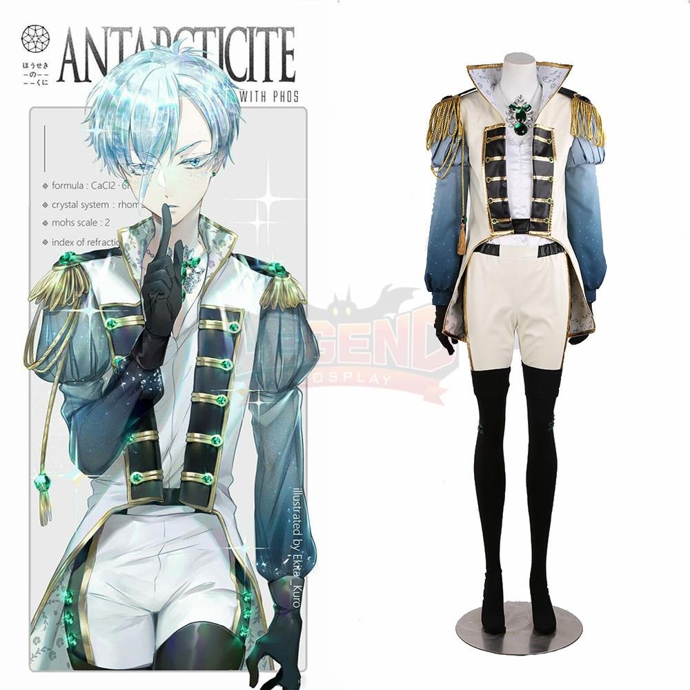 Anime Land of the Lustrous Houseki no Kuni Antarcticite Antarc cosplay Costume halloween costume custom made