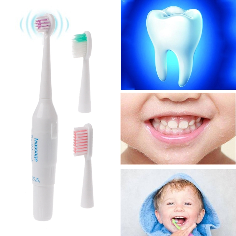2018 New Kids Professional Oral Care Clean Electric Teeth Brush Power Baby Toothbrush
