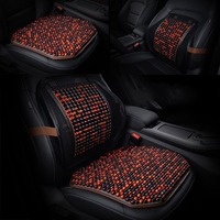 General Wooden Beads Massage Cushion Car Seat Cushion Car Seat Cover Monolithic Cool Seat Pad Portable Automobile Accessories
