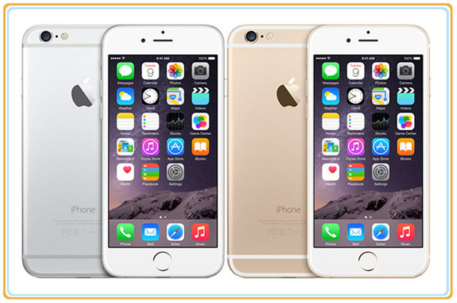iPhone 6 16GB/64GB/128G Mobile phone Unlocked Original Dual-core 1G RAM  4.7 inches 8MP Camera WIFI GPS Cell Phone dropshipping