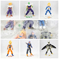 6 шт./компл. Совместное Движимое Dragon Ball Z Сын Гохан Вегета Piccolo Сон Гоку Стволы ПВХ Фигурки куклы игрушки модель Бесплатная Доставка доставка