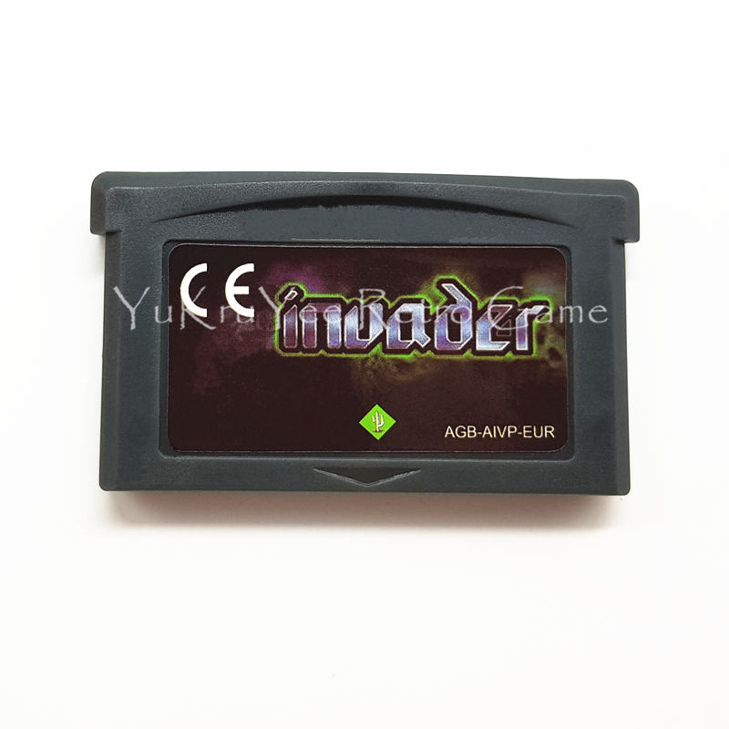 Invader Video Game Memory Cartridge Card for 32 Bit Console Accessories EU Sticker Version
