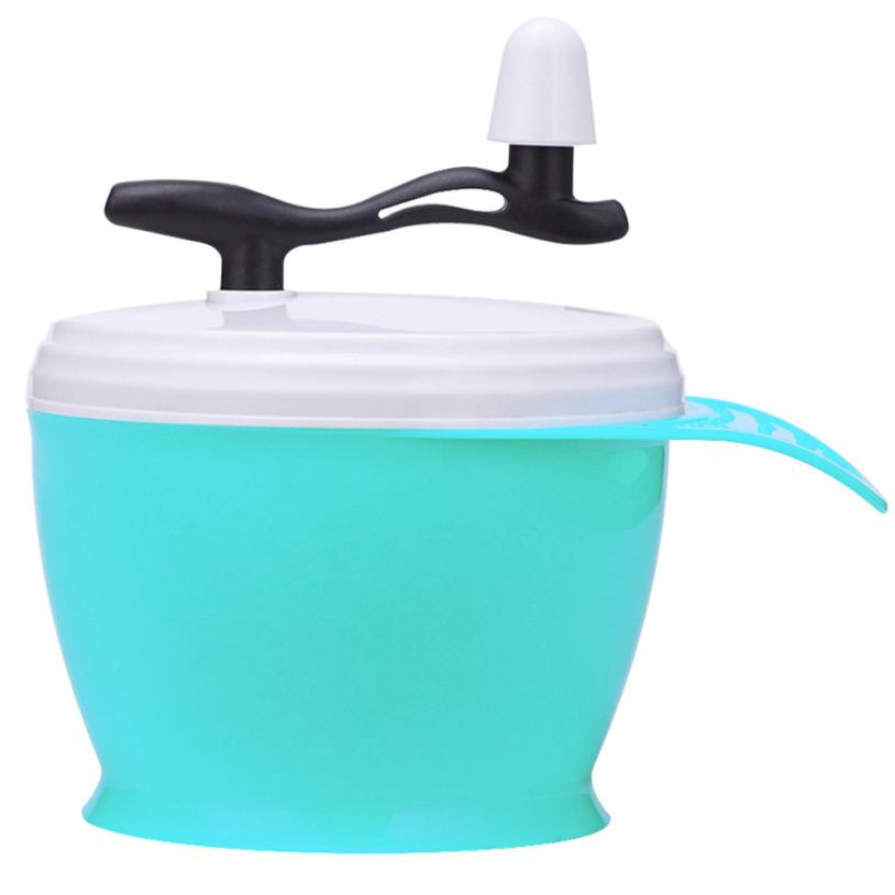 Hair color mixing bowl Dye Bowl Color Manual Mixing Bowl Hairdressing Salon Accessory Light blue 5U0517