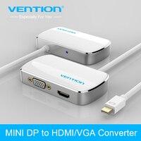 Can 2 trong 1 Mini DisplayPort Để DP HDMI VGA Adapter chuyển đổi Cáp cho Apple MacBook Air Pro iMac Mac HDTV chiếu