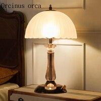Современный минималистский спальня ночники лампа творчески теплые свадебного торжества исследование лампы