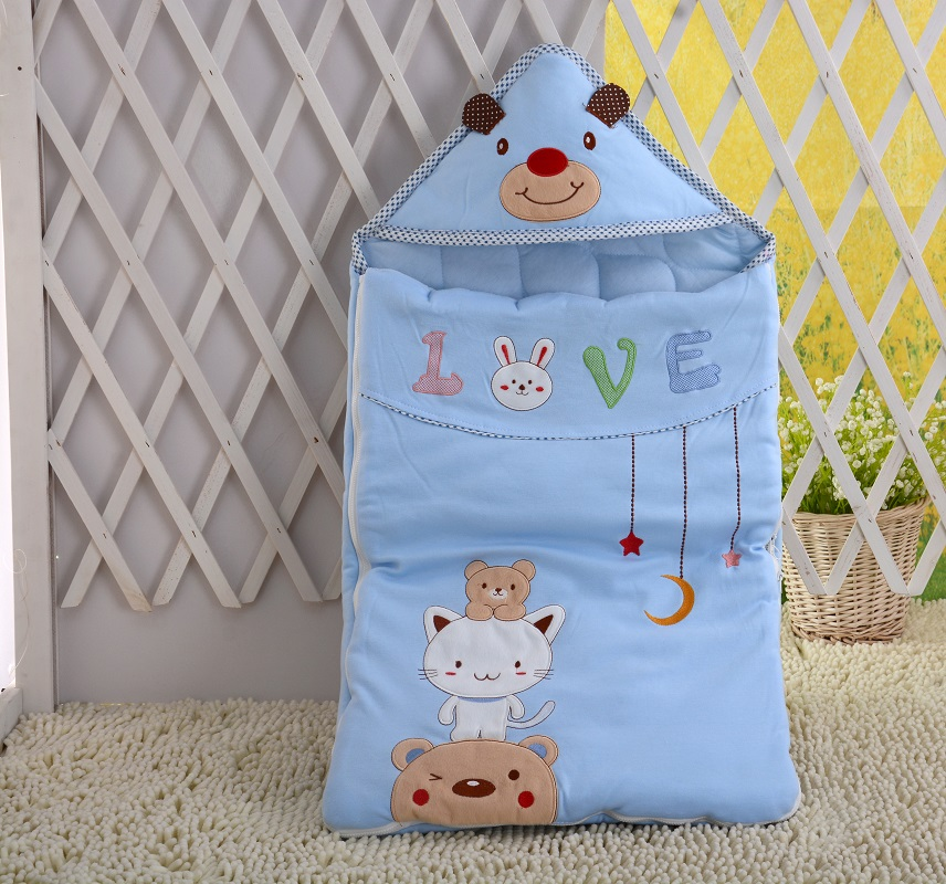Baby new sleepy bear cotton extra large thick can take off the four seasons blanket baby sleeping bagBaby new sleepy bear cotton extra large thick can take off the four seasons blanket baby sleeping bag