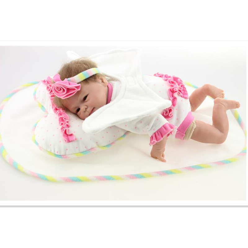New Vivid Silicone Reborn Dolls Babies Vinyl Doll Toy For