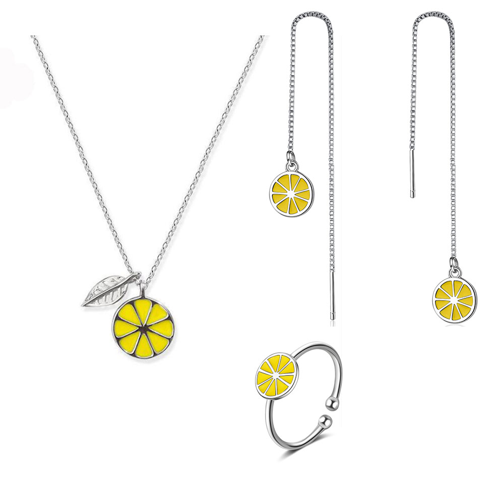 925 sterling silver Wish Tree Jewelry Sets Necklace /& Earrings For Women/'s Gifts