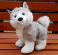 Plush Toys  Doll Simulation Husky  Children'S Toy Stuffed Animals  Gifts Standing Huskies dolls