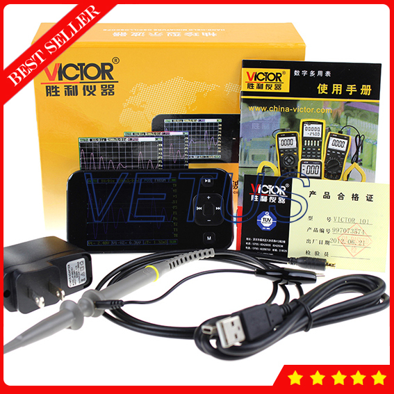Big Sale VICTOR101 Accuracy oscilloscope automotive with good quality Portable Oscilloscope