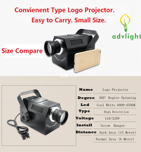 Image 3 - Gobos Projector Lens Logo 50W High Resolution Shop Mail Restaurant Welcome Laser Projector Shadow Design own Customized Display