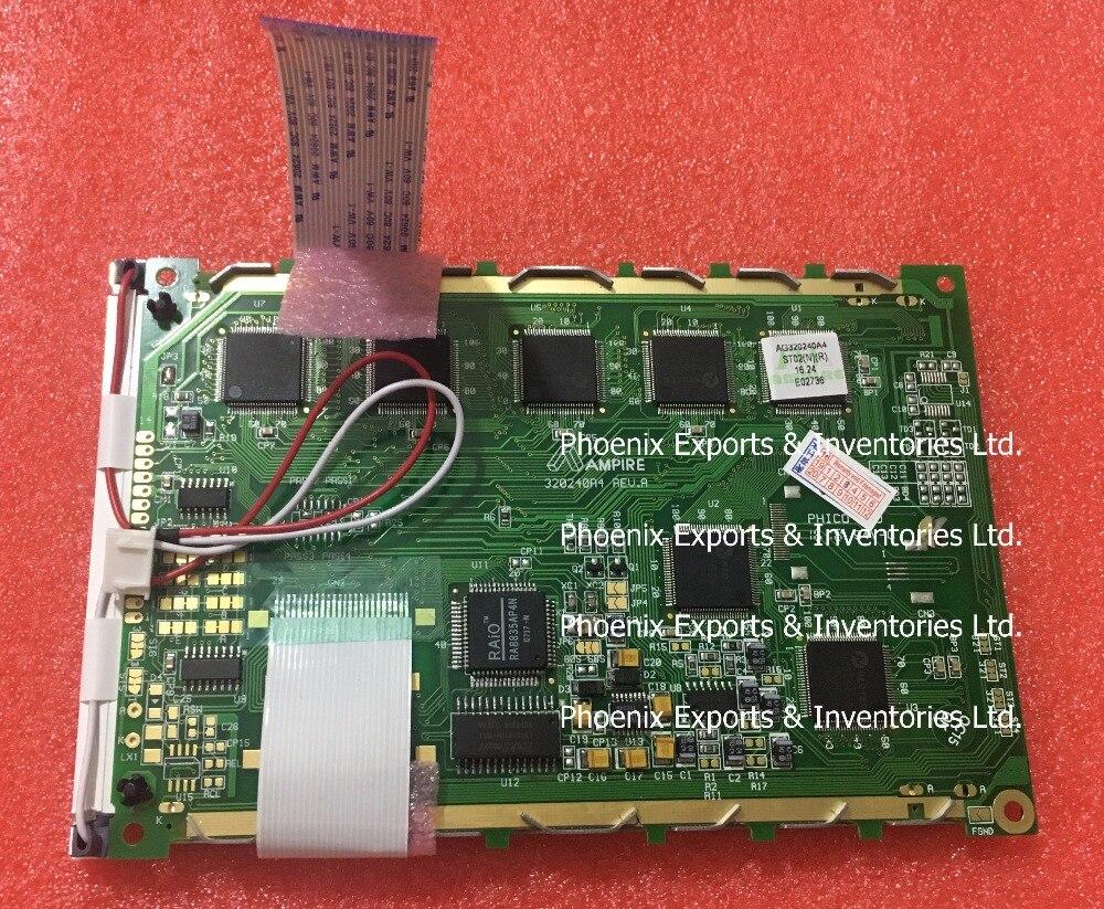 """オリジナル ampire AG320240A4 24 ピン LED バックライト 5.7 """"LCD スクリーンディスプレイパネル  グループ上の 電子部品 & 用品 からの LCDモジュール の中 1"""