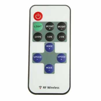 New Mini Wireless RF Remote Controller Dimmer Control For Single Color LED Strip