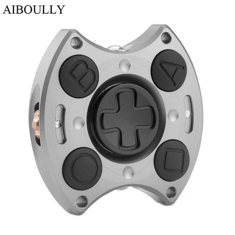 Aluminum Alloy fidget Cube fingertips gyro New Hand finger Spinner Stress Cube Hand Spinners Focus KeepToy And ADHD EDC infinity cube new style spinner fidget high quality anti stress mano metal kids finger toys luxury hot adult edc for adhd gifts