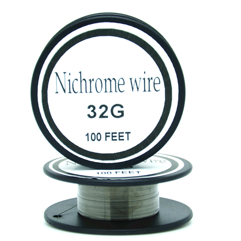 Nichrome wire 32 gauge 100 ft 02mm cantal resistance resistor awg nichrome wire 32 gauge 100 ft 02mm cantal resistance resistor awg diy atomizing core in cable winder from consumer electronics on aliexpress alibaba keyboard keysfo Choice Image