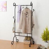 Новый железный вешалка посадка простой шкаф творческий вешалки для одежды в спальне простой Костюмы магазине