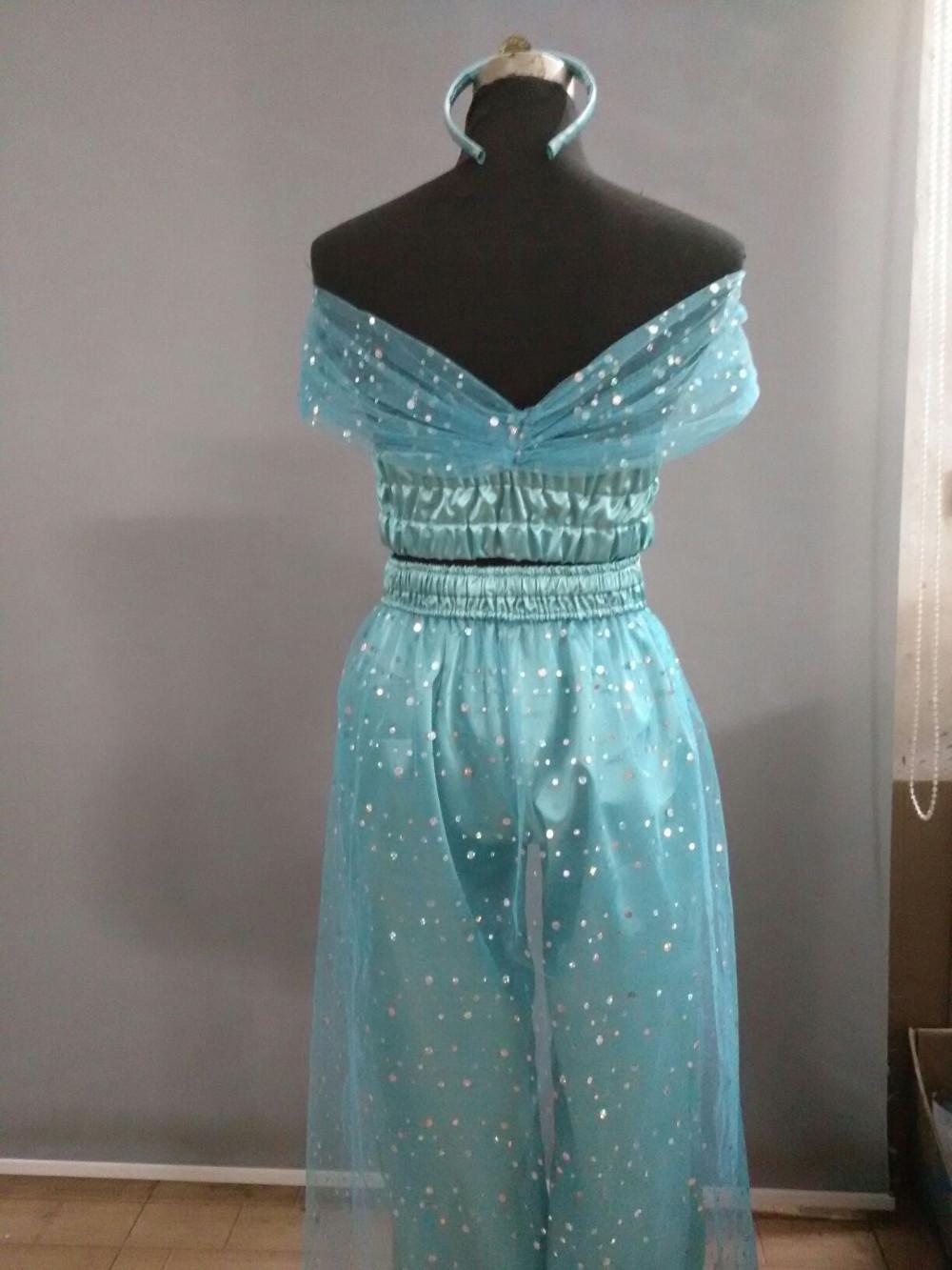 DB23324 princess jasmine costume-3