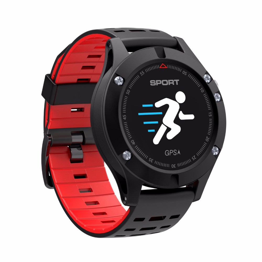 OGEDA Men F5 GPS Smart Watch Altimeter Barometer Thermometer Bluetooth 4.2 Smartwatch Wearable Devices for IOS Android 2018