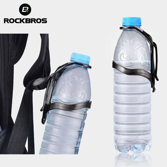 815dabe4ab3 Rockbros Water Bottle Cage Quick Remove Backpack PC Outdoor Sports Water  Cup Holder Bottle MTB Rode Bike Cycling Accessory