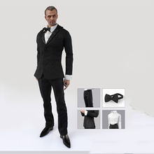 1/6 Mens Clothes Suit Coat Shirt Pants for 12