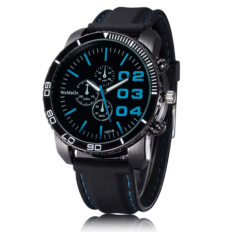 2017 Men Sport Watches Outdoor Dress Solar Watches Military Silicone Outdoor Quartz Watches Fashion Wristwatch Relogio Masculino