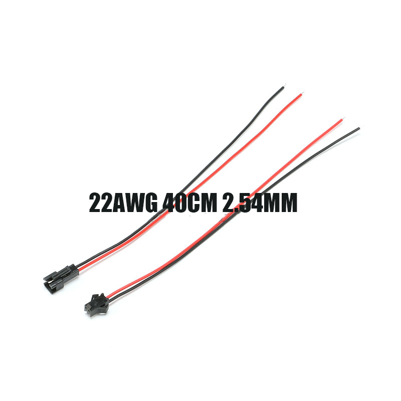 Free shipping 10pair 22AWG SM connect cable 2P Female to