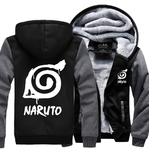 Image 3 - Moletom masculino anime naruto uzumaki naruto 2019 primavera inverno velo com zíper hoodies moda roupas de treino harajuku kpop