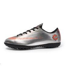 0e897d3bf 2018 Novos Sapatos de Treinamento Unhas Quebradas Sapatos de Futebol de  Relva Artificial Botas De Ouro