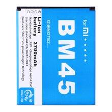 2 шт./ BM45 телефон батарея для Xiaomi Hongmi Redmi Note 2 Высокое качество Замена батареи с реальной емкостью 3700 мАч