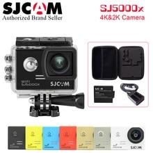 100% Original SJCAM Sj5000 Series Send 3 Parts~ SJ5000X Elite WiFi 30 M Waterproof Sports Action Camera+battery+Dua Charger+Bag