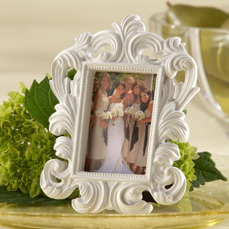 Cheap Wholesale Elegant White Baroque Photo Frame Wedding