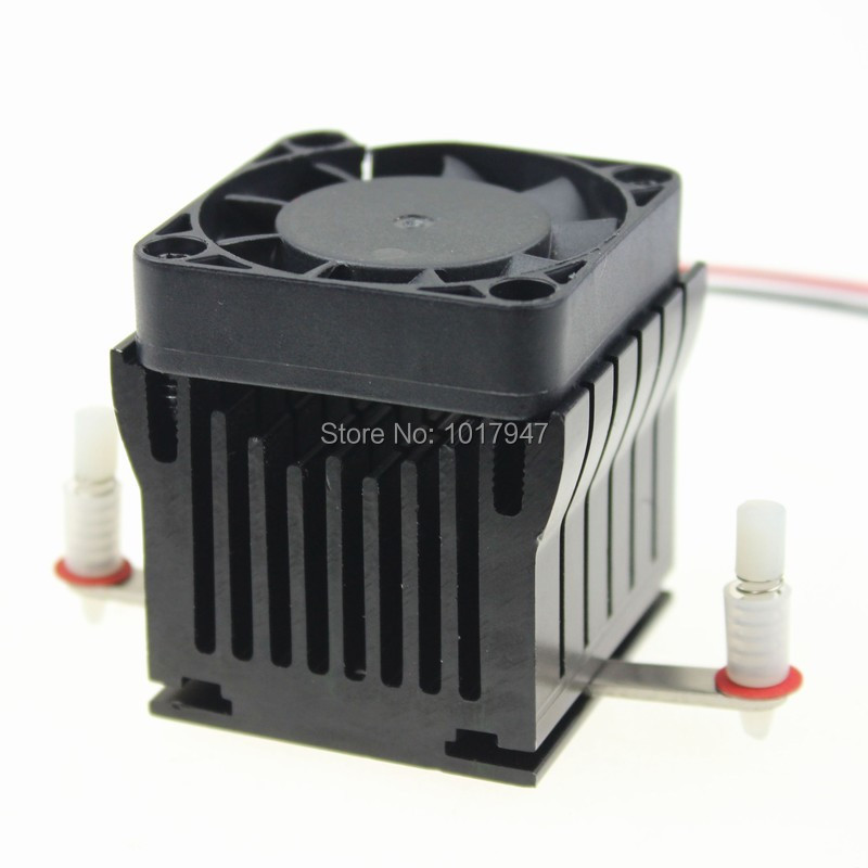 1 Pieces Aluminium Heatsink Cooler 40x10mm Fan For PC Computer Northbridge Chipset Cooling computer cooler radiator with heatsink heatpipe cooling fan for hd6970 hd6950 grahics card vga cooler