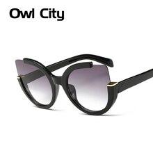 Cat Eye Sunglasses Women Shade Summer Sun glasses Vintage Brand Designer Glasses For Ladies Eyewear
